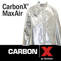 CarbonX MaxAir: Aluminized PPE That Is Actually Breathable