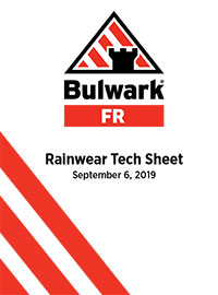 Rainwear Tech Sheet
